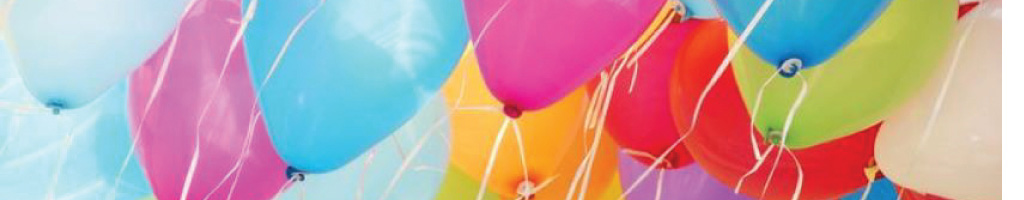 Ballonnen bedrukt