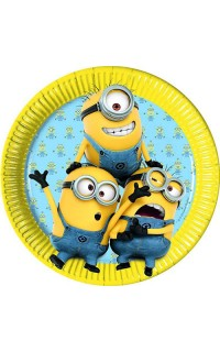 Bordjes Minions Despicable Me, 8st