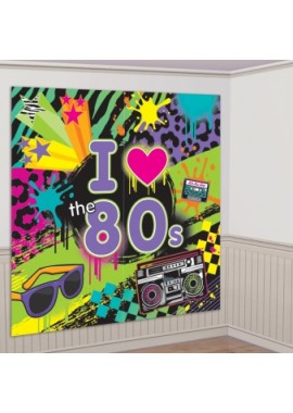 "Versiering disco: Scene Setter ""I love the 80's"""