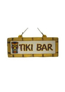 Hawaii versiering: Bord Tiki Bar