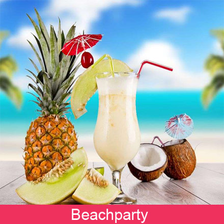 Versiering Beachparty