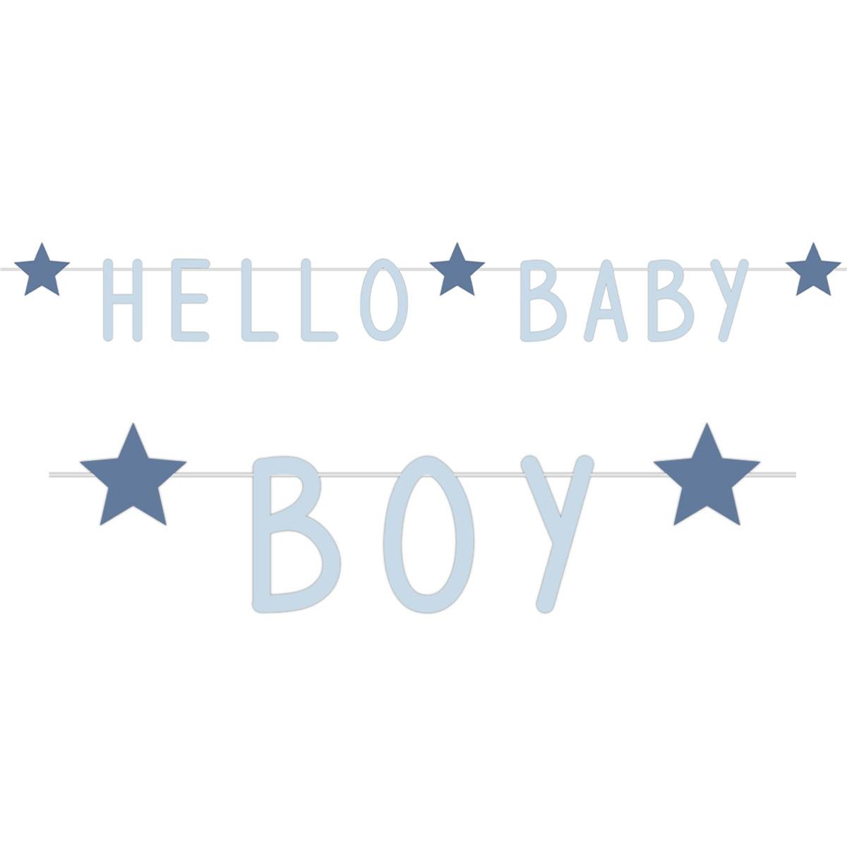 Geboorte versiering jongen