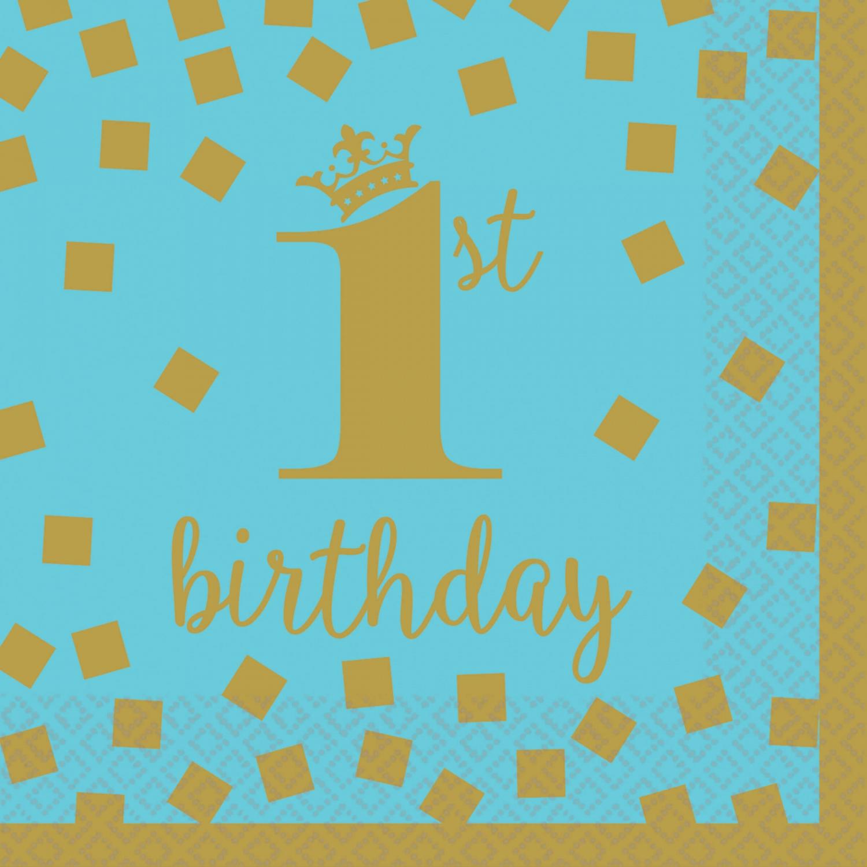 Verjaardag 1 jaar jongen