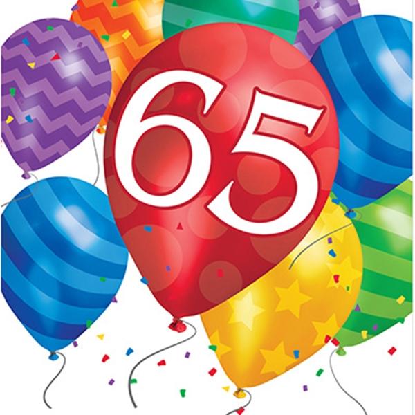 Versiering 65 jaar