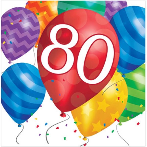 Versiering 80 jaar