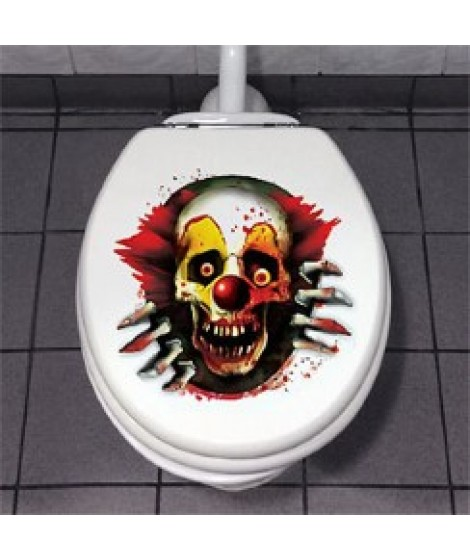 Scary Clown Toilet,