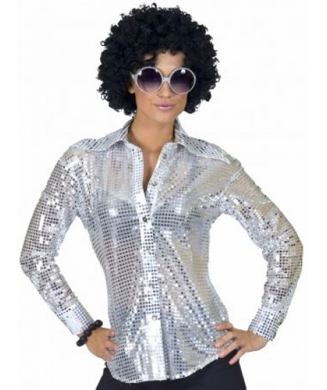 Disco blouse glitter.