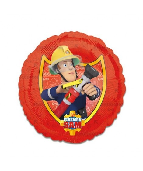 Brandweerman Sam folieballon.