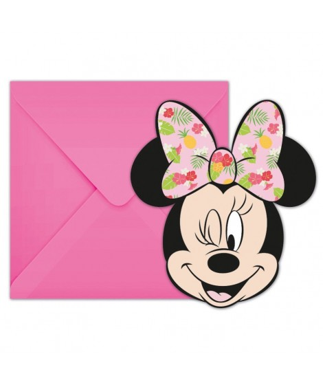 Minnie Mouse uitnodiging