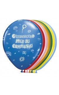 Ballon communie assorti