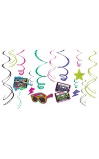Versiering disco: Swirls 80's party