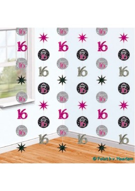 Hangdecoratie Sweet 16