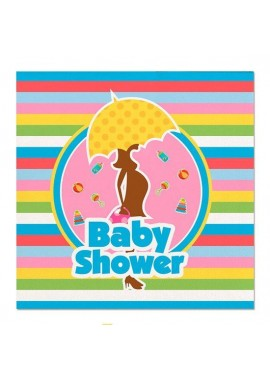 Baby Shower servetten