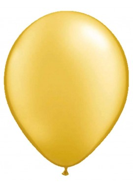 ballon goud metallic