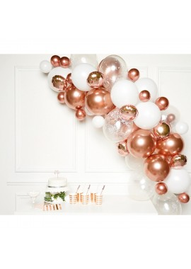 Ballonslinger set Rose Goud.