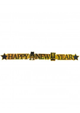Happy New Year Banner.