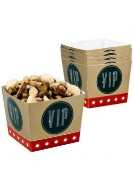 hollywood vip snack bakje