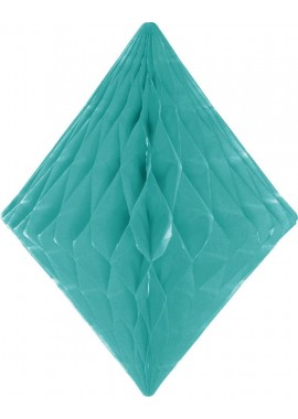 Honeycomb diamant mint groen