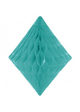 Honeycomb Diamant mint groen.