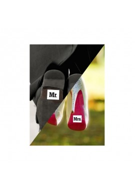 Schoensticker Mr. Mrs