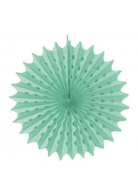 Waaier honeycomb mint groen