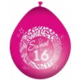 Ballon sweet 16 roze